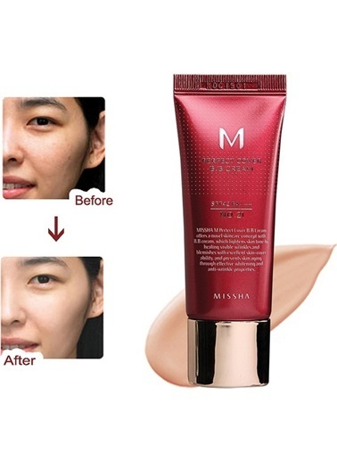 Missha M Perfect Cover Bb Cream No: 21 ( 20 Ml ) Bej